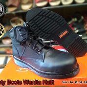 Sepatu Boots Wanita Safety Kulit / Sepatu Cewek / Sepatu Kerja Wanita (15019617) di Kota Bandung