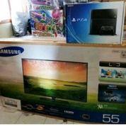 "TV SAMSUNG LED TV UA40 EH6000 55""Inch + PS4 Jet Black Seri CUH-1106A 5 (15019985) di Kota Tangerang"