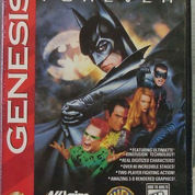 Batman Forever SEGA Genesis-MD US NTSC Authentic