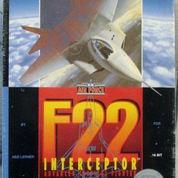 F-22 Interceptor SEGA Genesis-MD US NTSC Authentic