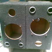 """Kotak Loudspeaker 6"""" Wool-Hitam"""