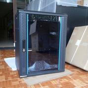 "Wallmount Rack 19"" 15U Depth 550mm Singgle Door (15117737) di Kota Surabaya"