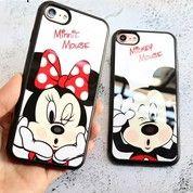 Fasion Case Mickey & Minnie For Iphone 7 (15170729) di Kota Jakarta Pusat