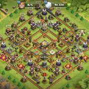 Town Hall 11 Hampir Max Clash Of Clan