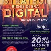 """Tiket Seminar Bisnis """"Strategi Bisnis Di Era Digital"""" (15210693) di Kota Yogyakarta"""