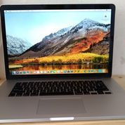 Macbook PRO RETINA Early 2013 INTEL Core I7 2.4 GHz Ukuran 15 Inch RAM 8GB SSD 256GB