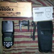 Yongnuo Speedlite 500EX Kompatibel Dengan Canon/Nikon (15242793) di Kota Jakarta Timur