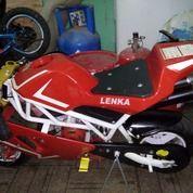 Moto Gp Mini Merk LENKA 50CC. KONDISI BAGUS. COD JAKARTA PUSAT. CP 089618808686 (15244469) di Kota Jakarta Pusat