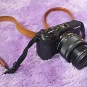 Canon EOS M3 Kit EF-M15-45mm Hitam (Bekas) + Tas Kamera Leather (15439941) di Kota Tangerang Selatan