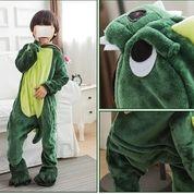 Cute Kid Onesie Pijama Green Dragon Outfit (15494053) di Kota Denpasar