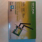 TP-LINK N600 Wireless Dual Band PCI Express Adapter [TL-WDN3800] (15521465) di Kota Jakarta Barat