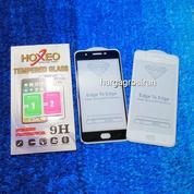 Tempered Glass Oppo F1S / Full Body / Full Lem Anti Gores Kaca