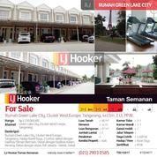 Rumah Green Lake City, Cluster West Europe, Tangerang, 4x15m, 2 Lt, PPJB. (15533317) di Kota Jakarta Barat