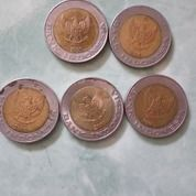 Uang Koin 1000 Rupiah Gambar Kelapa Sawit (15542353) di Kota Pekanbaru
