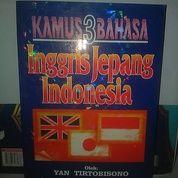 Kamus 3 Bahasa Inggris Jepang Indonesia