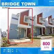 Rumah Baru Luas 84 Di Bridge Town Tidar Kota Malang _ 308.18 (15590365) di Kota Malang