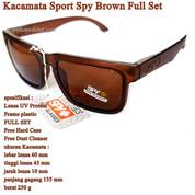 Kacamata Pria Sunglasses SPY Brown Full Set (15595497) di Kota Jakarta Timur
