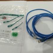 Kabel USB Printer Biru Transparan 3mtr (15629437) di Kota Surabaya