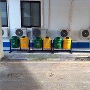Tempat Sampah Fiber Organik Non Organik 2 In 1 (15634441) di Kota Bekasi