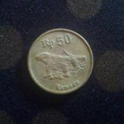 Uang Kuno Rp.50 Gambar Komodo Thn 91 (15645125) di Kab. Kampar