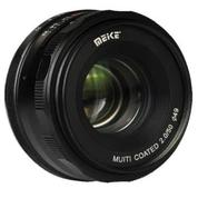 Lensa Meike 50mm F2.0 For Mirrorless Sony E-Mount (15659609) di Kota Surabaya