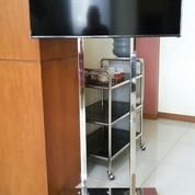 Bracket TV Standing Stainless Steel