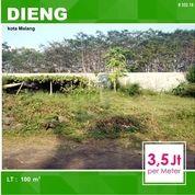 Tanah Kavling Luas 100 Di Dieng Atas Kota Malang _ 352.18 (15796153) di Kota Malang