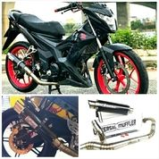 Knalpot Racing Satria Fu, Mx King Full System (15796637) di Kab. Buol
