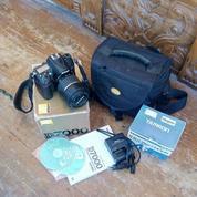 Kamera DSLR Nikon D7000 + Lensa Thamron 17-50mm