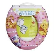 Ring Closet Trainer For Baby Girl N Boy Soft Potty Seat Minnie Hello Kitty Cars Pooh Spongebob Nemo