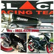 Knalpot Racing Satria Fu, Mx King, Cbr, R15 Full System (15872941) di Kota Denpasar