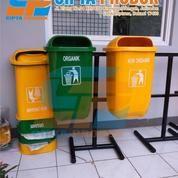 Tempat Sampah Fiber Pilah 2 In 1 (15876945) di Kota Bekasi