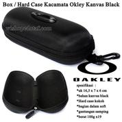 Box / Hard Case Kacamata Okley Kanvas Black (15877381) di Kota Jakarta Pusat