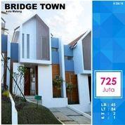 Rumah 2 Lantai Luas 84 Di Bridge Town Tidar Kota Malang _ 356.18 (15887469) di Kota Malang