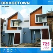 Rumah 2 Lantai Luas 84 Di Bridge Town Tidar Kota Malang _ 357.18 (15887553) di Kota Malang