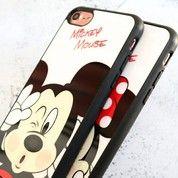 Fashion Case Mickey & Minnie For Iphone 6plus / 6s Plus (15929401) di Kota Jakarta Pusat