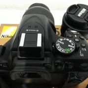 Nikon D5200 Kit AF-S 18-55mm VR + Lensa Nikkor AF 50mm F/1.8D