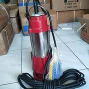 "Pompa Submersible Sewage Pump Pompa Celup Air Kotor Stainless 1"" Auto 180w (16004393) di Kota Jakarta Barat"