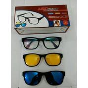 Magic Vision 3in1 Kacamata HD Vision Magnet (16010417) di Kota Cimahi