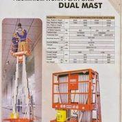 MOBILE ALUMUNIUM WORK PLATFORM DUAL MAST MR BAHRI DENKO (16015729) di Kota Tangerang