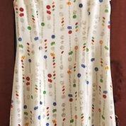 Dress Cream Motif Simple (16028721) di Kota Jakarta Selatan