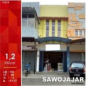 Ruko Murah Luas 69 Di Sawojajar 1 Kota Malang _ 380.18 (16029305) di Kota Malang