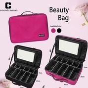 Make Up Bag Seri Pink And Black