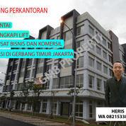 Gedung Perkantoran 5 Lantai Terletak Di Kawasan Bisnis Dan Komersil Dilengkapi Dengan Lift (16072449) di Kota Bekasi