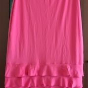 Rok Midi Pink Ruffles (16073829) di Kota Jakarta Selatan