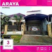 Rumah Bagus Luas 300 Di PBI Araya Kota Malang _ 404.18 (16122277) di Kota Malang