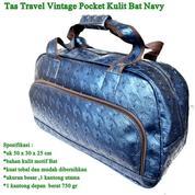 Tas Kulit Travel Vintage Pocket (16132229) di Kota Jakarta Timur