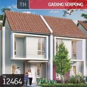 Rumah Gading Serpong, Carillo Residence Cluster, Paramount LAND, 6x12m, 2 Lt, PPJB (16142301) di Kota Tangerang