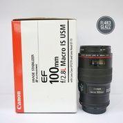 Lensa Canon 100mm F2.8 L USM Fullset Termurahhh (16152361) di Kota Surabaya