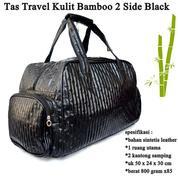 Tas Travel 2 Side Pocket Kulit Bamboo (16154833) di Kota Jakarta Pusat